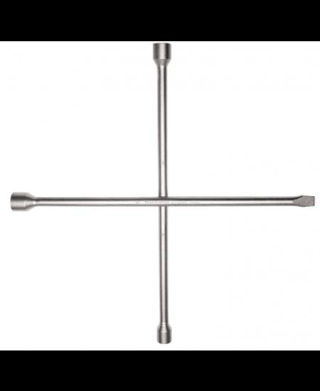 Chave de roda Tramontina tipo cruz com espatula 17x19x21 mm