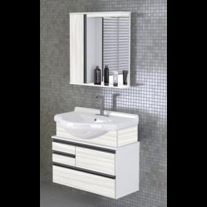 Armário para banheiro Firenze Suspenso 83,5 cm AJ Rorato