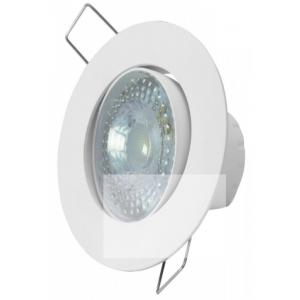 Spot LED TASCHIBRA Embutir Redondo  SP 25 5W Luz Branca 6500K