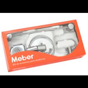 Kit Meber Domus Acessórios para banheiro