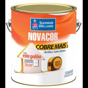 Tinta Novacor Fosco Cobre + Verde Limão