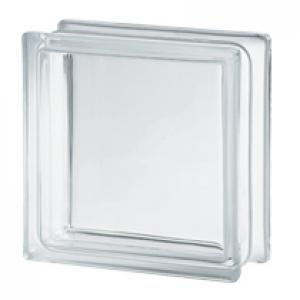 Tijolo de Vidro Liso Glassblock 8x19x19