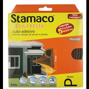Veda Fresta Stamaco Marrom - Modelo P