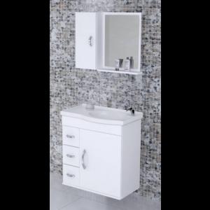 Armário para banheiro Verona Suspenso 55,5 cm AJ Rorato
